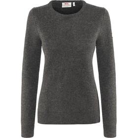 Fjällräven Övik Structure Suéter Mujer, dark grey